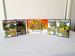 Teenage Mutant Ninja Turtles TMNT The Ultimate Collection Original DVD Set