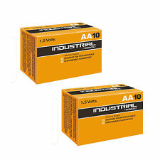 20 Duracell Procell AA Size 1.5V Alkaline Professional Performance Battery HQ