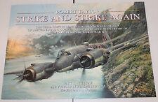 Robert Taylor - Strike and Strike Again - Aviation Art FLYER