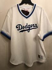 Mitchell & Nes Los Angeles Dodgers Men's XL Sz White Coopertown Collection Mesh