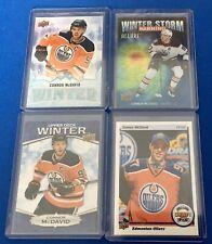 Upper Deck Connor McDavid Lot Of 4 Cards Edmonton Oilers NHL