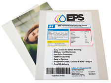 Icing Sheets Plain A4 Pack for Printing Cake Toppers - 25 Sheets EPS Premium