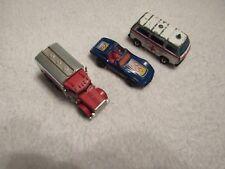 VINTAGE LOT OF 3 MATCHBOX CARS PETERBILT CORVETTE VOLKSWAGEN TRANSPORTER