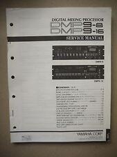 Yamaha Digital Mixing Processor DMP9-8, DMP9-16 Service Manual