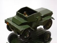 DINKY TOYS 673 SCOUT CAR - MILITARY - ARMY GREEN 1:43 - GOOD CONDITION