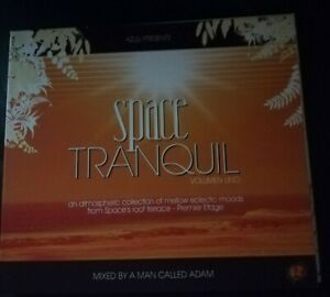 SPACE TRANQUIL VOLUMEN UNO MIXED BY A MAN CALLED ADAM NEW UNUSED IBIZA BALEARIC