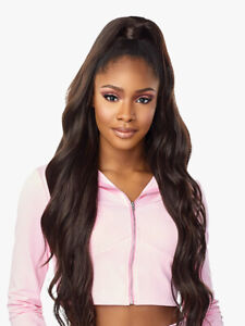 SENSATIONNEL SYNTHETIC INSTANT UP & DOWN PONY WRAP HALF WIG - UD 4