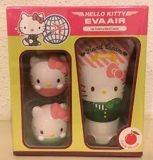Sanrio Hello Kitty Apple Flavor Hand Cream / Lip Balm (Pink + Light Green) SET