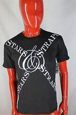 FAMOUS STARS & STRAPS NEW Black Short Sleeved Shirt Skate Size SMALL