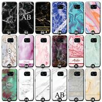 Personalized Marble Phone Case/Cover for Samsung Galaxy S Initial/Name/Custom