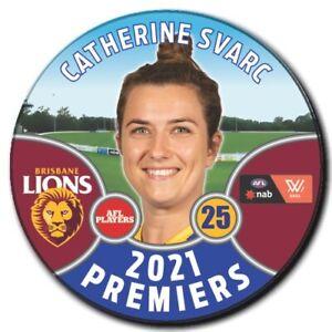 2021 AFLW Premiers Player Badge - SVARC, Catherine