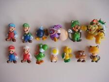 Random 10 Nintendo Super Mario Bros Yoshi Luigi Figure COLLECTION Set Goomba