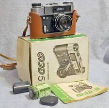 NUOVO! FED 5 FOTOCAMERA SOVIETICA FUNZIONANTE TELEMETRO 35mm PHOTOCAMERA LEICA