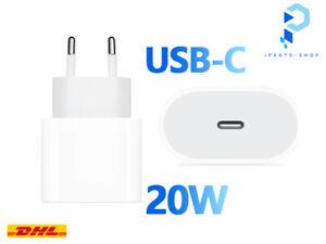 Apple iPhone 12 Pro Max Ladegerät Netzteil 20W USB C iPad Power Adapter Neu