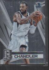 TYSON CHANDLER    2014-15 PANINI SPECTRA CARD #66 /75