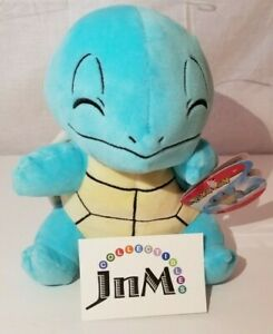 """Pokemon squirtle 97961 Plush Pokémon wicked cool toys NWT 8inch 8"""" nintendo WCT"""