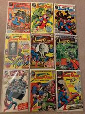 Superman's Pal Jimmy Olsen #133,136,137,139,141,143,145,147,148 1972 Fine/Very F