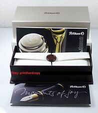 New Logo Black Red Blue Green Pelikan M400 Fountain Pen 14k Gold Discon Nib !!!