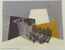 Duo Color Lithography Riko Debenjak Our Generation - Reginald H. Neal Triptych