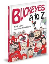 OSU GO BUCKS! A to Z Children fan Book by Mark Walter Signed~Buckeyes Recipe NEW