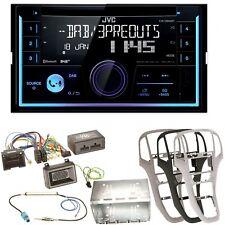 JVC KW-DB93BT USB MP3 CD Bluetooth DAB+ Einbauset für Opel Astra J