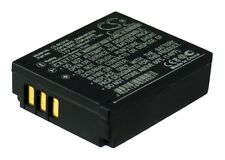 Premium Battery for Panasonic Lumix DMC-TZ2EF-S, CGA-S007A/1B, Lumix DMC-TZ4K
