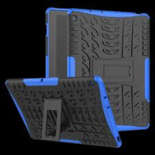 Für Huawei MediaPad M5 Lite 10.1 Zoll Hybrid Outdoor Hülle Blau Tasche Cover Neu