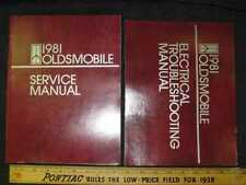1981 Oldsmobile All Series w/ Electrical Shop Manual