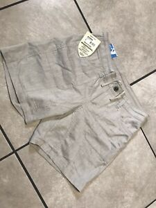 Kuhl Cabo Outdoors Hiking Cotton Linen Shorts In Birch Size 8  NEW)