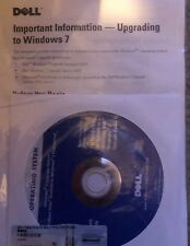 Dell Windows 7 Home Premium 32 Bit DVD