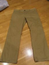Mens Seven 7 DIAMONDS Straight Fit, Khaki Pant/Chino, size 35 x 32