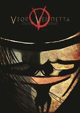 V pour Vendetta Film Petit Poster Art Imprimé A3 Taille GZ2079