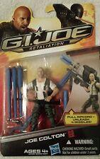 GI JOE Retaliation JOE COLTON  action figures Pull Rip cord Unleash 4 Missiles!