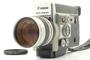 【MINT / ALL WORKS】Canon Auto Zoom 814 Electronic 8mm Movie From JAPAN #640
