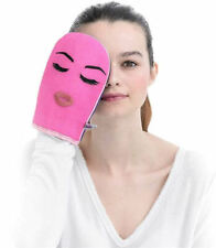 Make up Remover Pad Mitt Microfibre Washable Face Exfoliator Gift Boxed Pads Eco