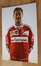 ORIGINAL Autogramm von Sebastian Vettel. pers gesammelt. 20x30 Foto. 100% ECHT