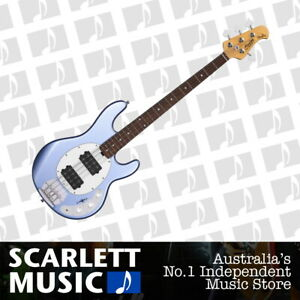 Sterling by MusicMan Ray 4 HH Electric Bass Metallic Lake Blue
