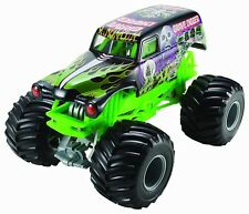 Hot Wheels Monster Jam Grave Digger Die-Cast Vehicle, 1:24 Scale, Black and...