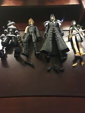 Lot Of 4 Incomplete Square Enix Toys Play Arts