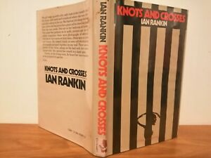 Knots and Crosses by Ian Rankin 1st edition 1987 Crime Club Hardcover