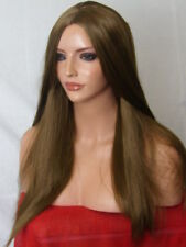 Light Brown Fashion Long Poker Straight Women Ladies Adult Costume Wig O17