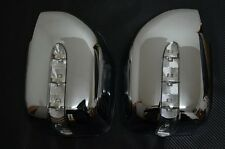 Rearview LED Rear View Mirror Cover For Toyota Land Cruiser FJ100 LX470 98- 2007