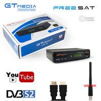 Mini 1080P Digital DVB-S2 Satellite Receiver HD Decoder TV Tuner Wifi Youtube