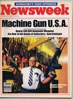 ORIGINAL Vintage October 14 1985 Newsweek Magazine No Label