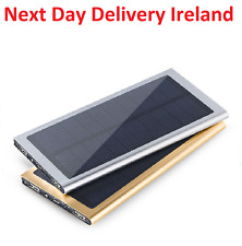 12000mAh Dual USB Portable Solar Battery Charger Power Bank For Mobile Phone