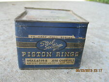 1932 1933 1934 1935 1936 1937 - 1952 Ford NOS Piston Rings 95 H/P Flathead .030