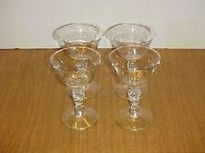LIBBEY/ROCK SHARPE CRYSTAL LIBERTY BELL CHAMPAGNES SET
