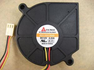 Y.S. TECH 60 x18mm 6018 Blower Fan BD126018HB  12V 3Pin  507