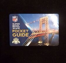 Super Bowl XLVIII Pocket Guide New York City Subway Map 2014 Denver vs Seattle