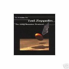 "LED ZEPPELIN TRIBUTE ""SONGS REMAINS REMIXED""  1999 CD"